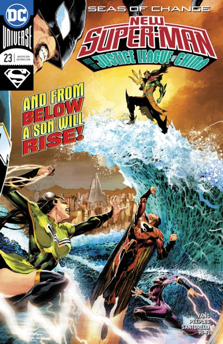 New Super-Man & The Justice League Of China #23