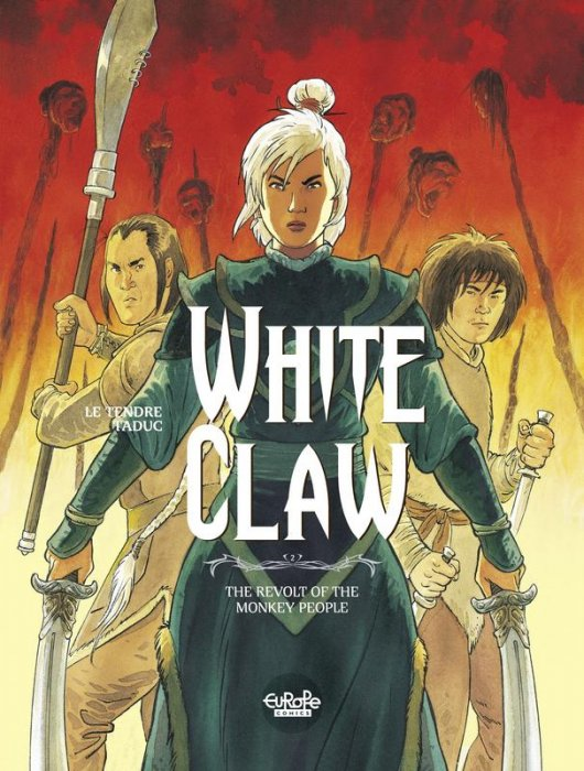 White Claw #2 - The Revolt of the Monkey People