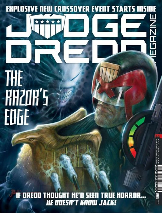 Judge Dredd The Megazine #396