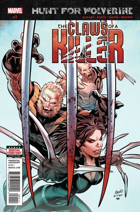 Hunt for Wolverine - The Claws of a Killer #1
