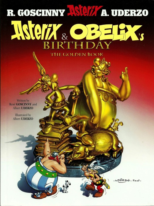 Asterix And Obelix's Birthday - The Golden Book