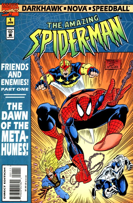 Amazing Spider-Man Friends and Enemies #1-4 Complete