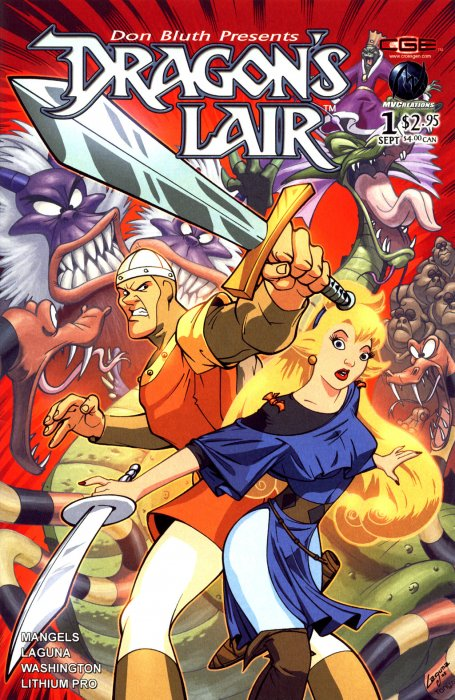 Dragon's Lair #1-4 Complete