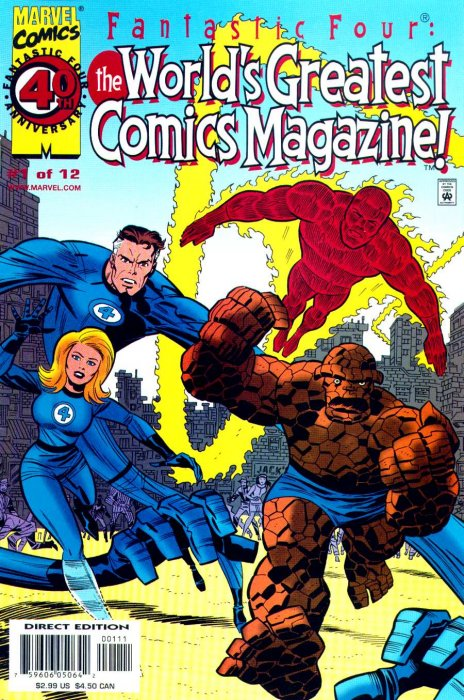 Fantastic Four - The World's Greatest Comics Magazine #1-12 Complete