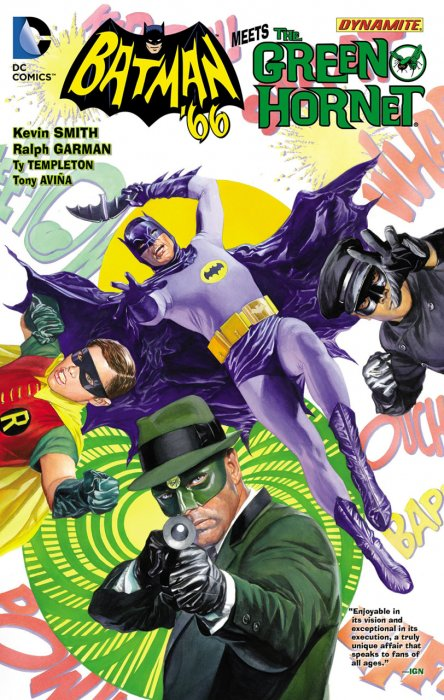 Batman '66 Meets The Green Hornet #1 - HC