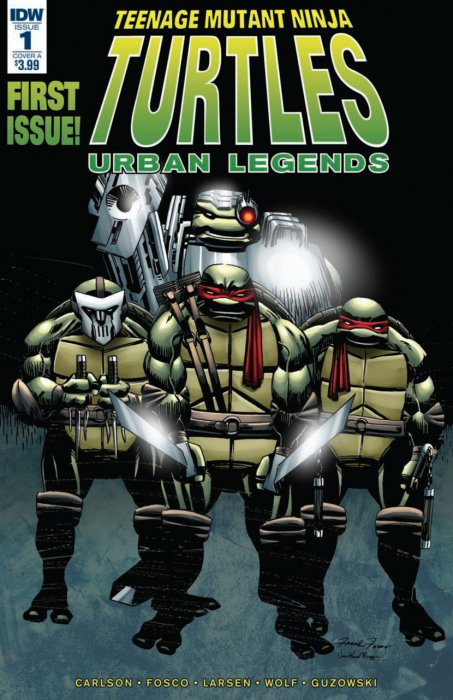 Teenage Mutant Ninja Turtles - Urban Legends #1
