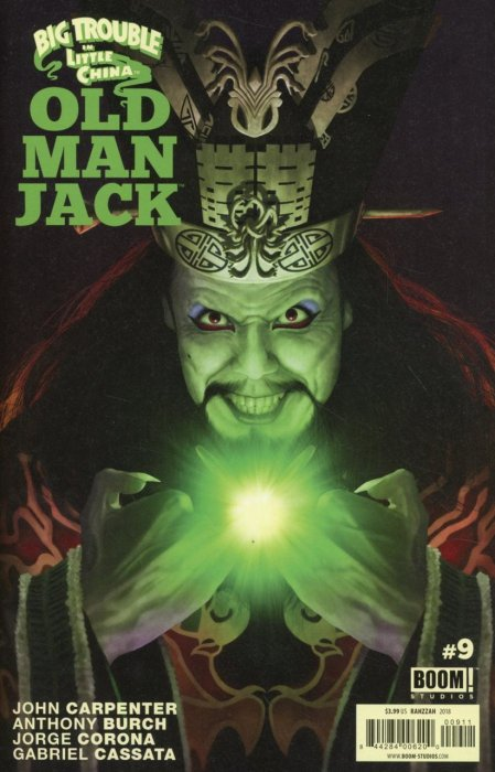 Big Trouble In Little China Old Man Jack #9