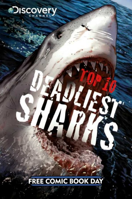 Top 10 Deadliest Sharks #1