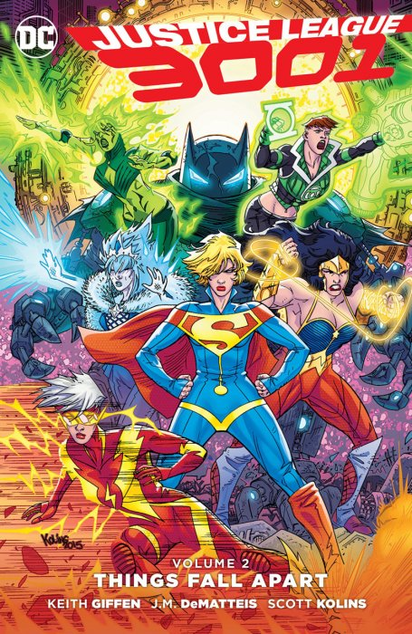 Justice League 3001 Vol.2 - Things Fall Apart