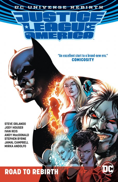 Justice League of America - Road to Rebirth #1 - TPB