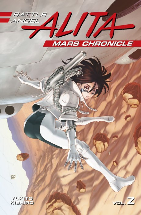 Battle Angel Alita - Mars Chronicle Vol.2