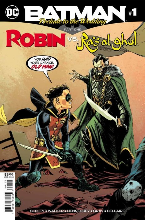 Batman - Prelude to the Wedding - Robin vs Ras Al Ghul #1
