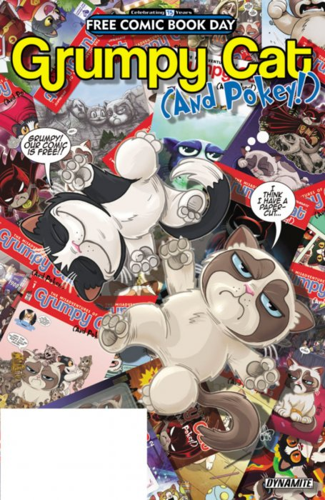 Grumpy Cat - Free Comic Book Day #1