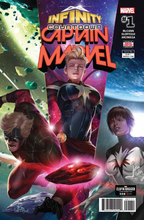 Infinity Countdown - Captain Marvel #1
