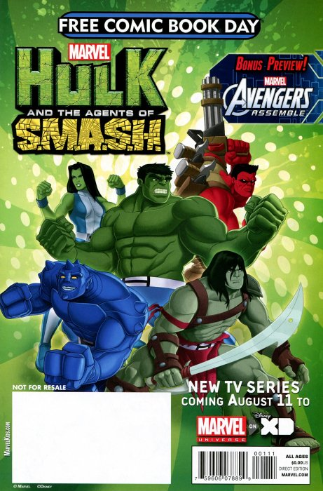 Free Comic Book Day 2013 (Avengers/Hulk)