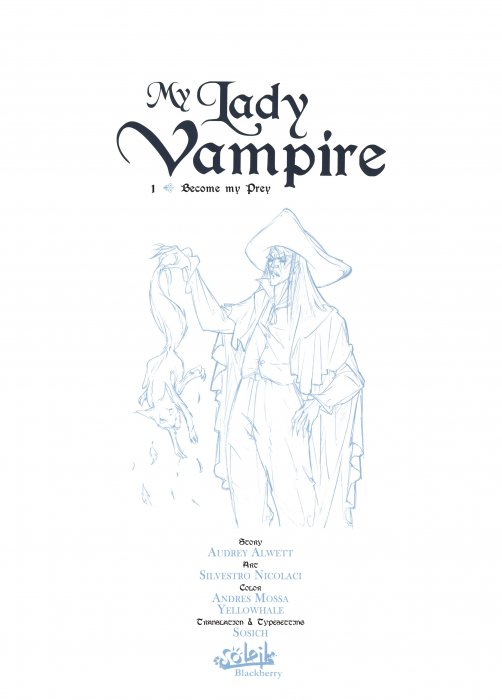 My Lady Vampire Vol.1-3 Complete