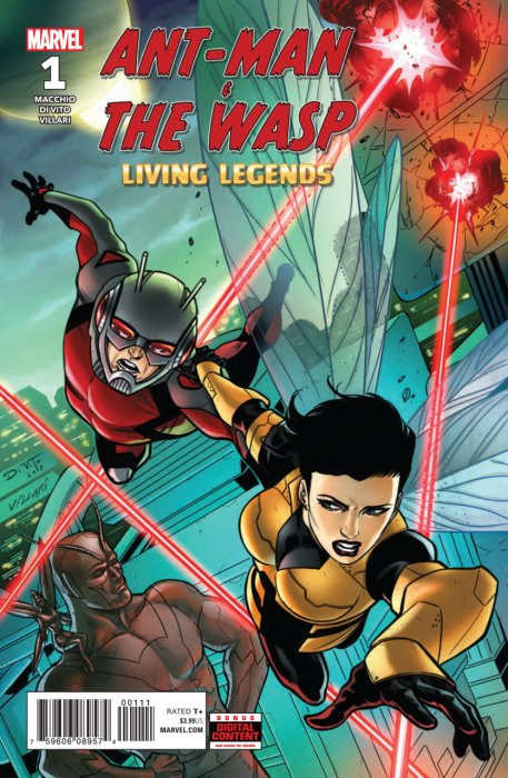 Ant-Man & the Wasp - Living Legends #1
