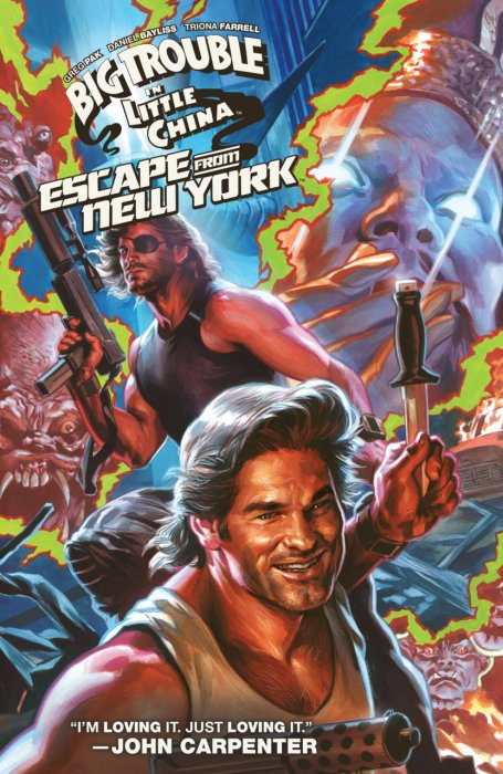 Big Trouble in Little China - Escape from New York #1 - TPB