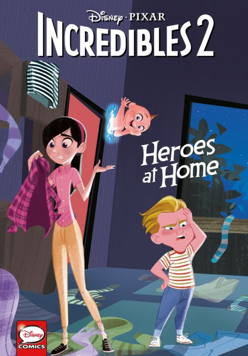 Incredibles 2 - Heroes at Home #1 - GN