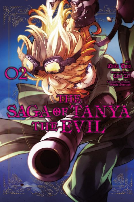 The Saga of Tanya the Evil Vol.2
