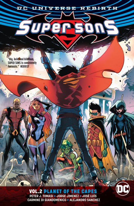Super Sons Vol.2 - Planet of the Capes