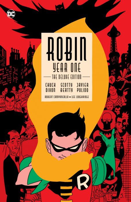Robin - Year One - The Deluxe Edition #1 - HC