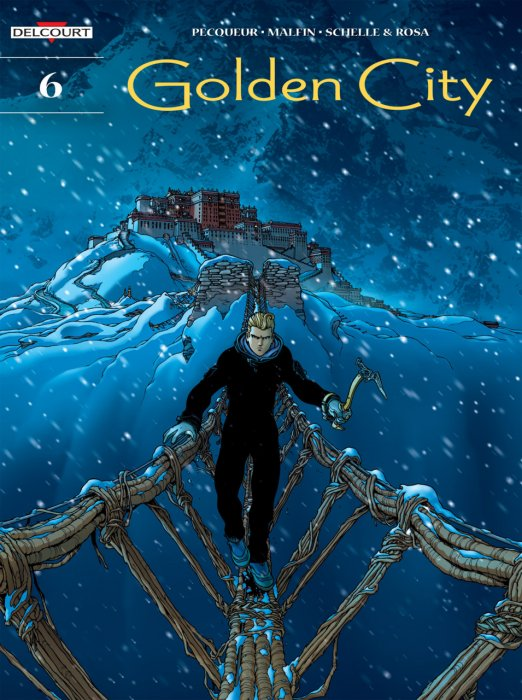 Golden City #6-10 Complete