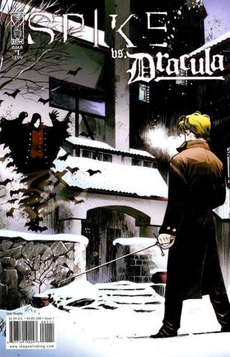 Spike vs. Dracula #1-5 Complete
