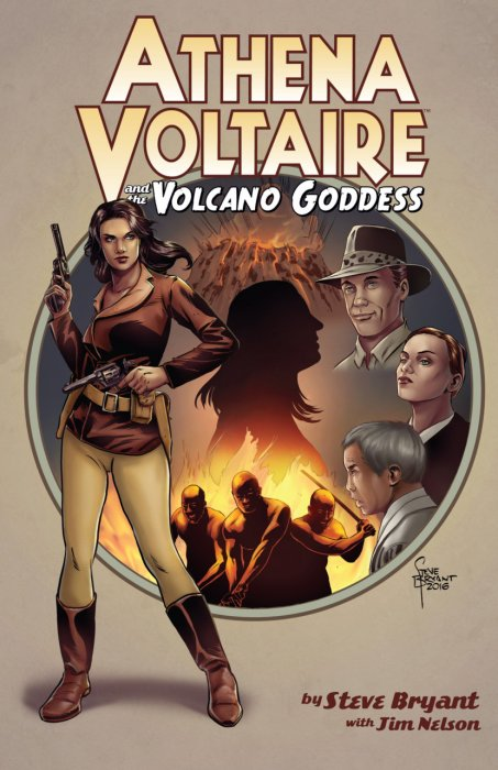 Athena Voltaire and the Volcano Goddess Vol.1