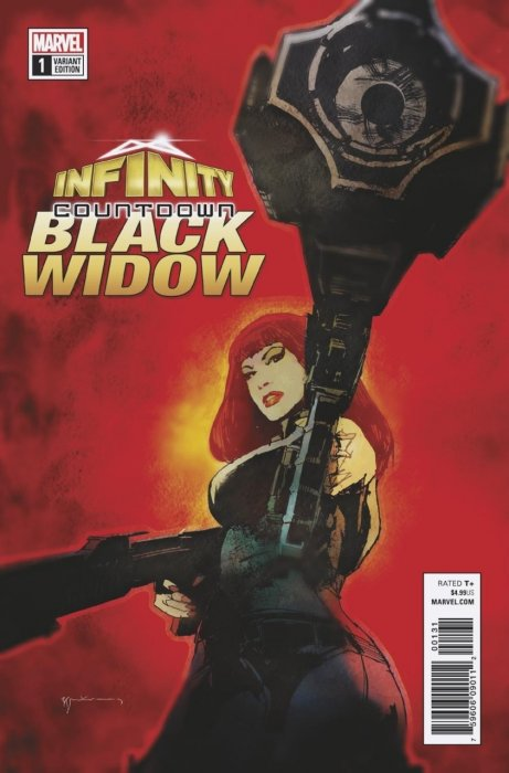 Infinity Countdown - Black Widow #1