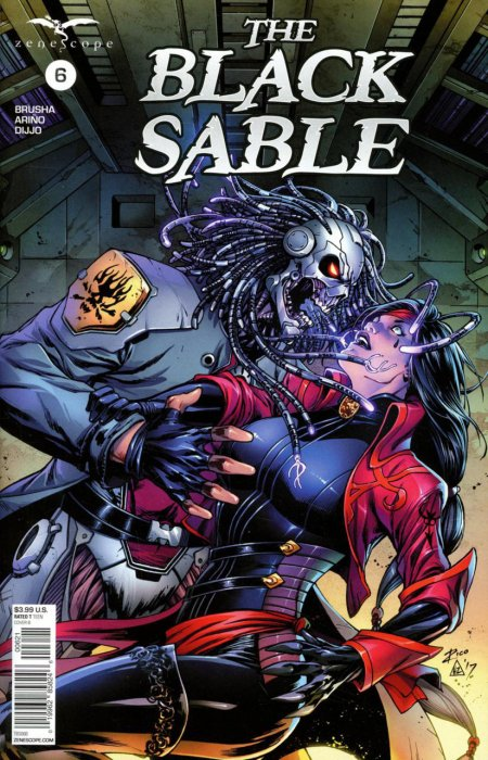 The Black Sable #6