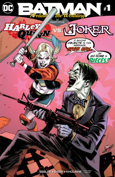 Batman - Prelude to the Wedding - Harley Quinn vs Joker #1