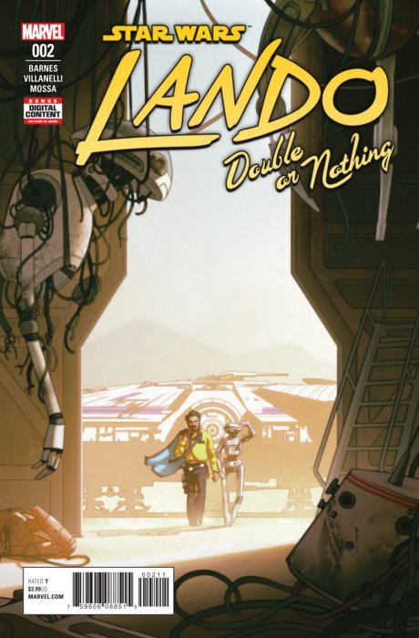 Star Wars - Lando - Double Or Nothing #2