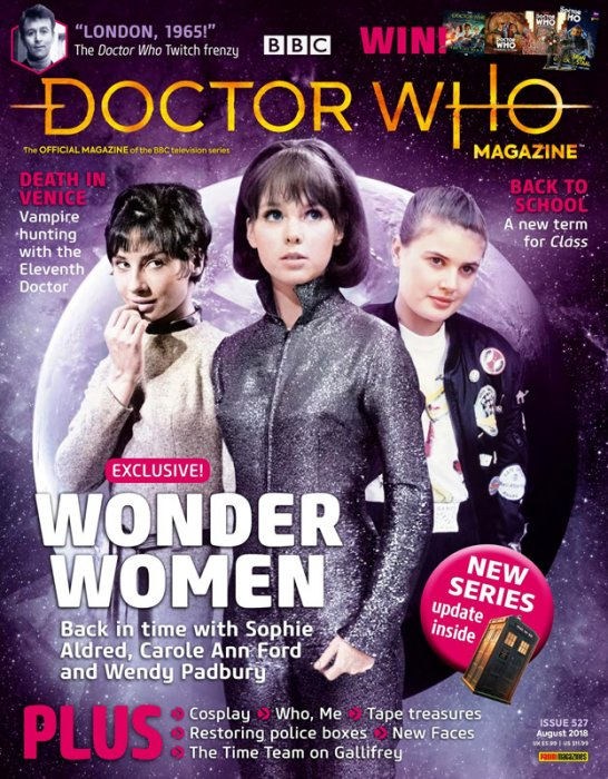 Doctor Who Magazine #527