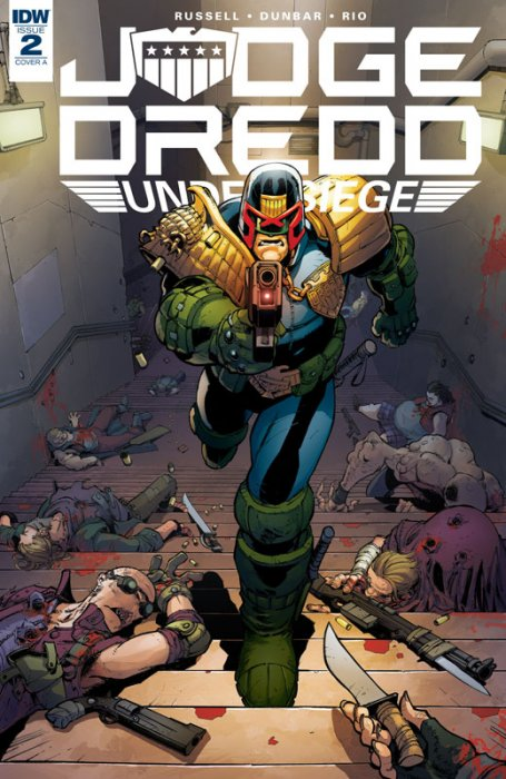 Judge Dredd - Under Siege #2