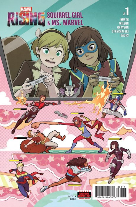 Marvel Rising - Squirrel Girl & Ms. Marvel #1