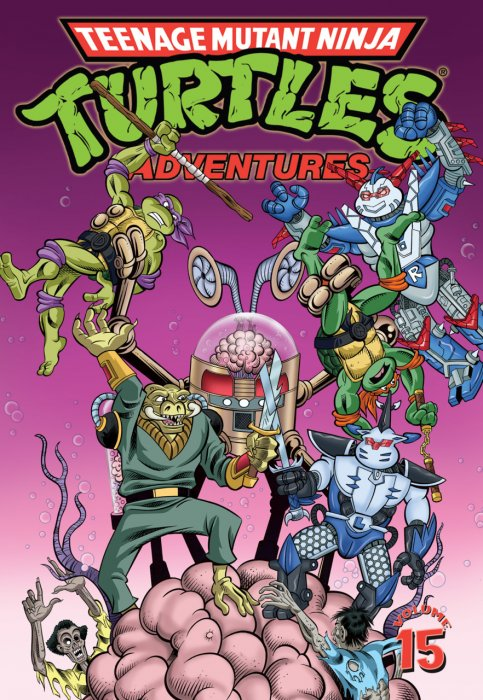 Teenage Mutant Ninja Turtles Adventures Vol.15