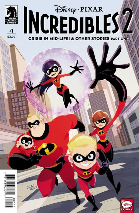 Incredibles 2 - Crisis in Mid-Life! & Other Stories #1