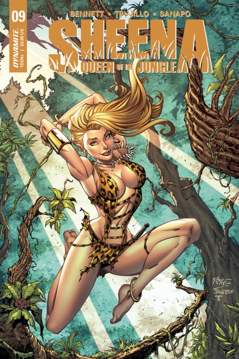 Sheena - Queen of the Jungle #10
