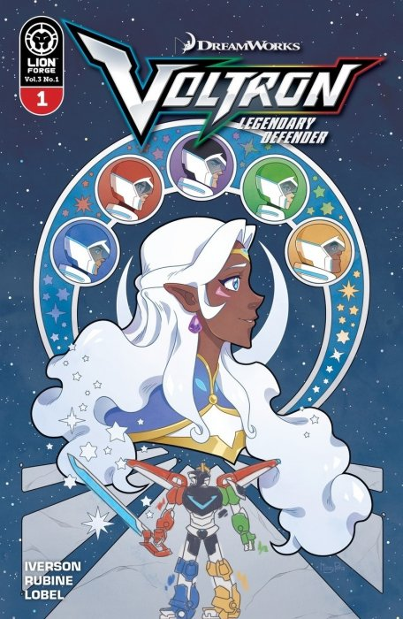 Voltron - Legendary Defender Vol.3 #1
