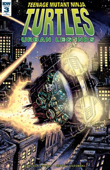 Teenage Mutant Ninja Turtles - Urban Legends #3