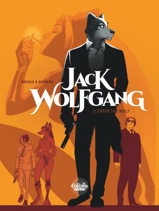 Jack Wolfgang #1 - Enter the Wolf