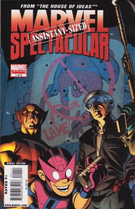Marvel Assistant-Sized Spectacular #1-2 Complete