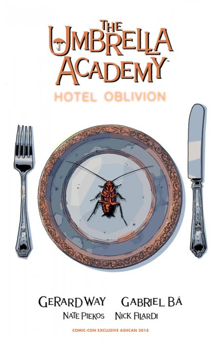The Umbrella Academy - Hotel Oblivion Ashcan #1