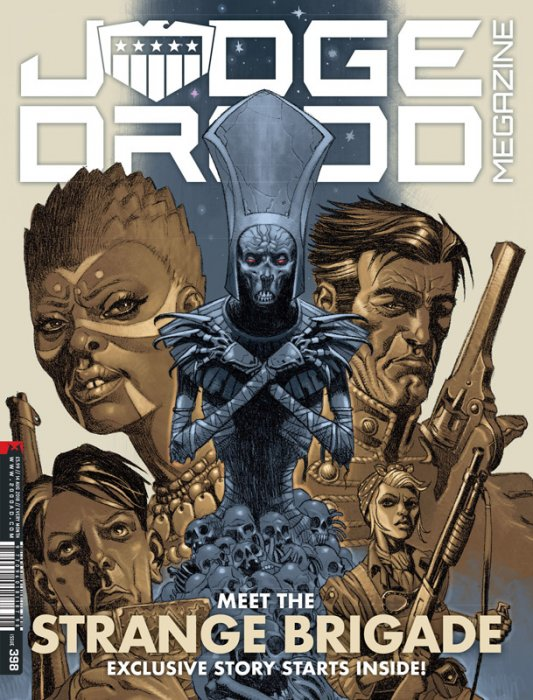 Judge Dredd The Megazine #398