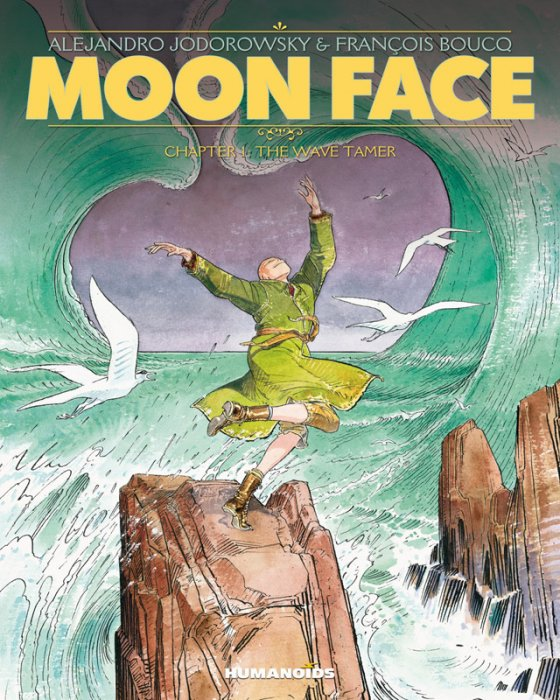 Moon Face #1-5 Complete