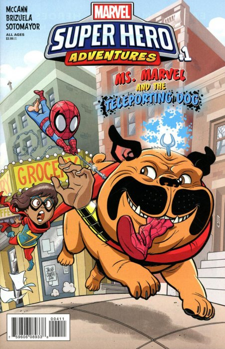 Marvel Super Hero Adventures - Ms. Marvel and the Teleporting Dog #1
