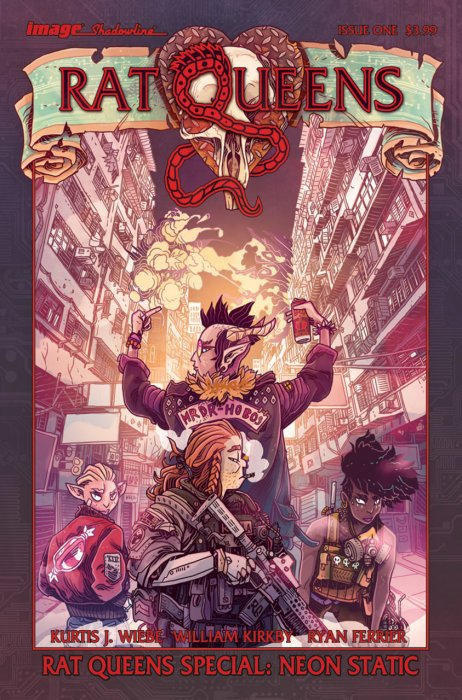 Rat Queens Special - Neon Static #1