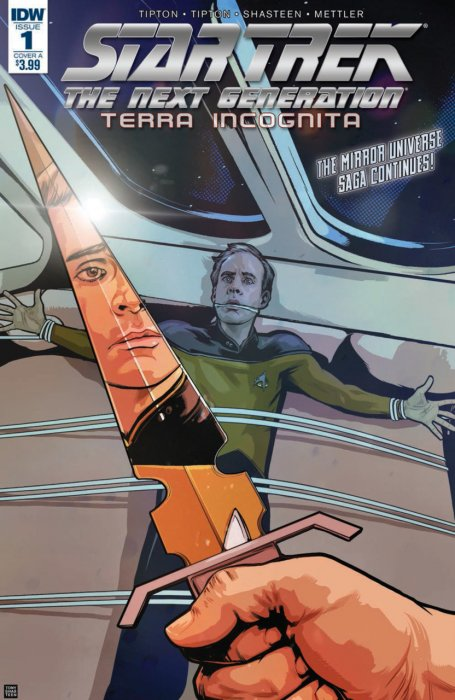 Star Trek - The Next Generation - Terra Incognita #1