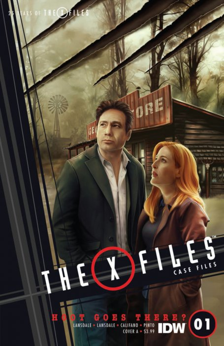 The X-Files - Case Files - Hoot Goes There #1